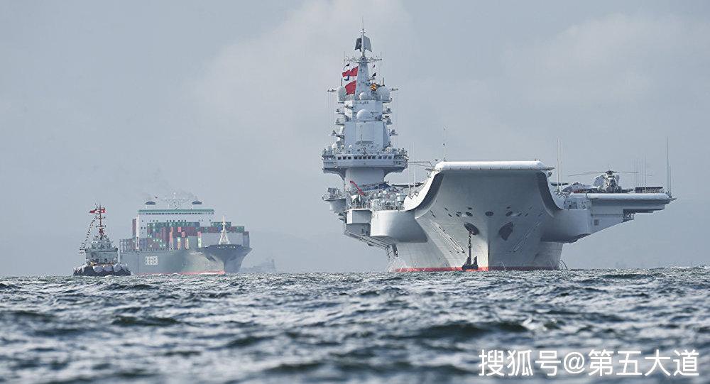 海事局划出禁航区,国产002型航母或将最后一次海试,舰体变化明显