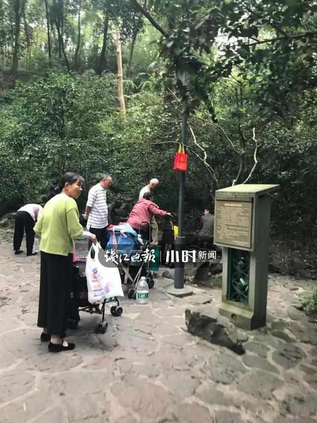 要排3小时打水的虎跑人少了是因为杭州人有了它吗