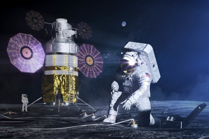NASA预热用于Artemis任务的下一代太空服