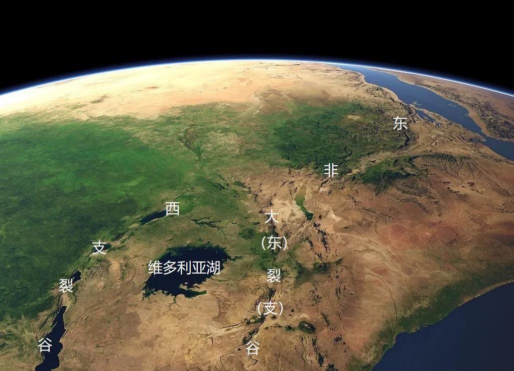 原创             东非大裂谷最终会变成什么样,会变成海洋吗?