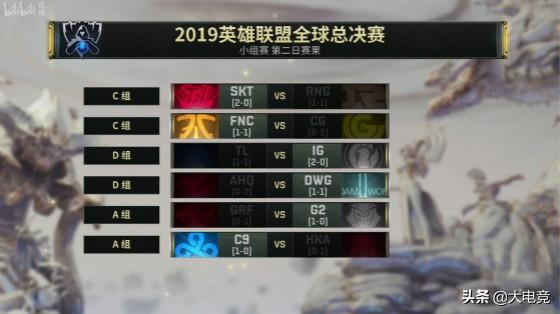 LOL-S9次日综述:RNG复仇失败、IG两连胜、G2惊艳首秀技惊四座