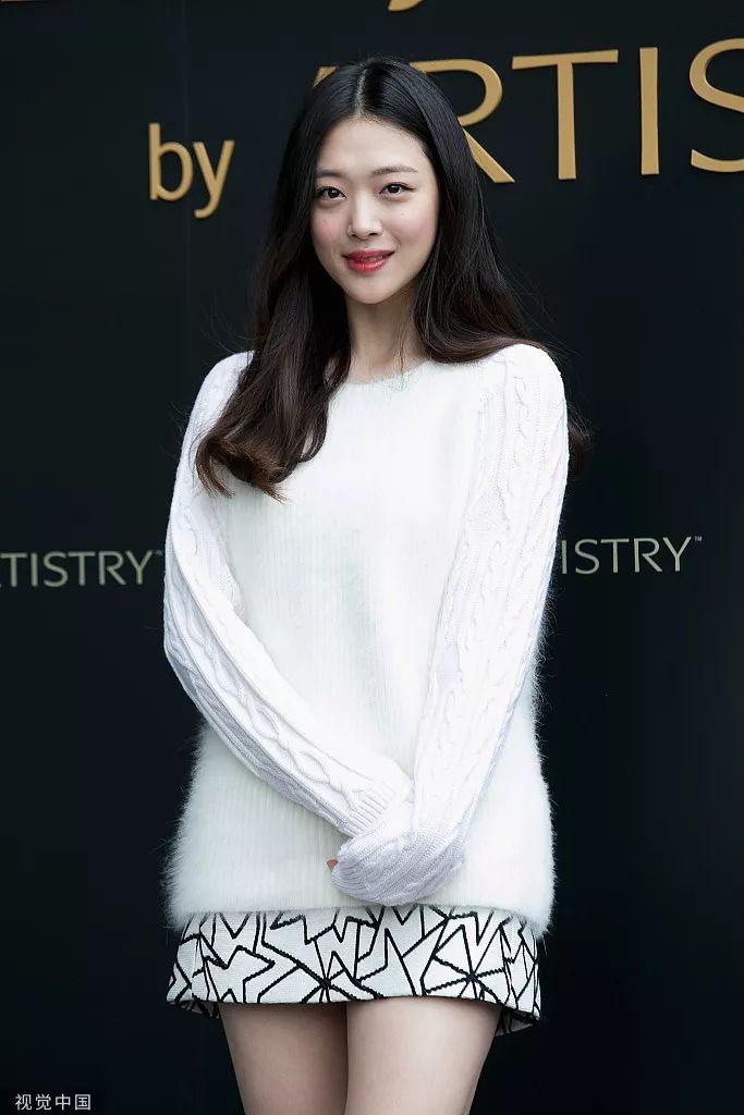 韩国女星崔雪莉确认在家中死亡,曾疑似患抑郁症