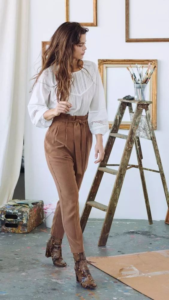 新晋流行单品:奶奶裤