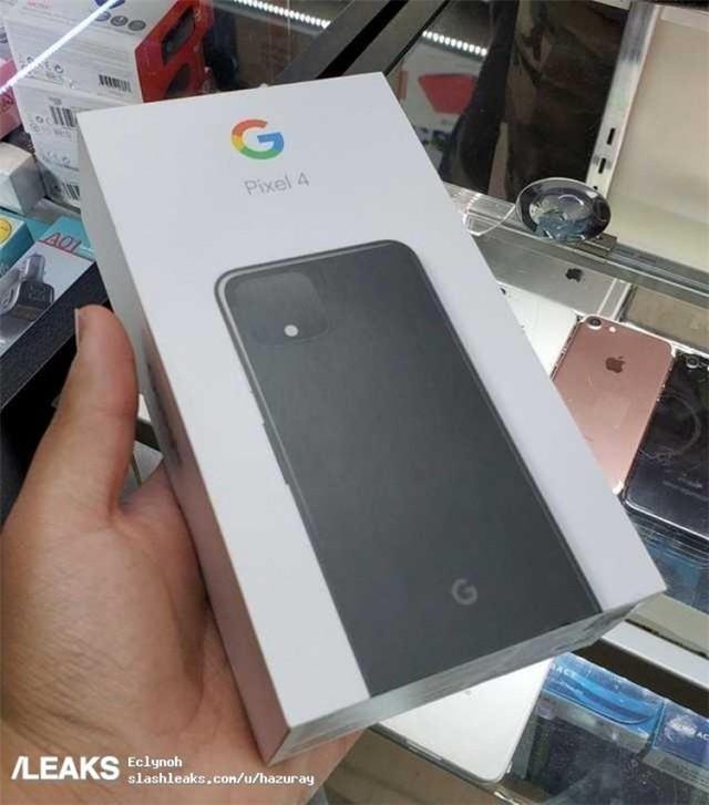 谷歌Pixel 4包裝盒曝光 配置信息一目了然