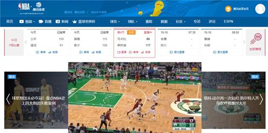 腾讯体育复播NBA季前赛,网友吵翻,NBA对腾讯体育有多重要?