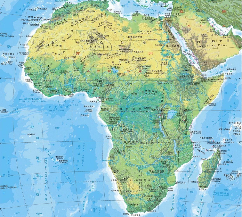 """原创             世界七大洲中的""""非洲"""",是一个怎样的地区?"""