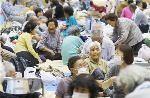 地震、台风同时爆发后,日本出现更大危机,联合国拒绝援助