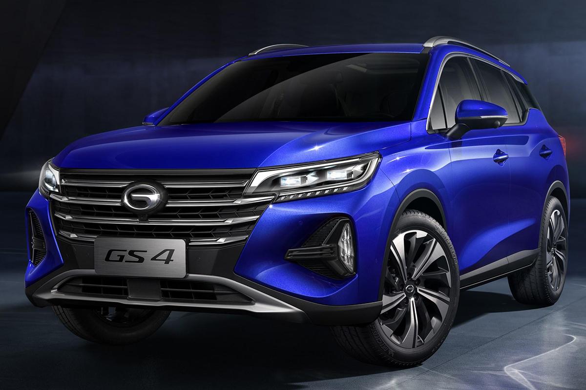 两种前脸造型 广汽传祺全新GS4将11月中旬上市