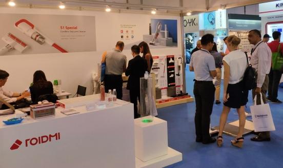 睿米携新品闪耀亮相香港秋季电子产品展,黑科技助力新国货人气爆
