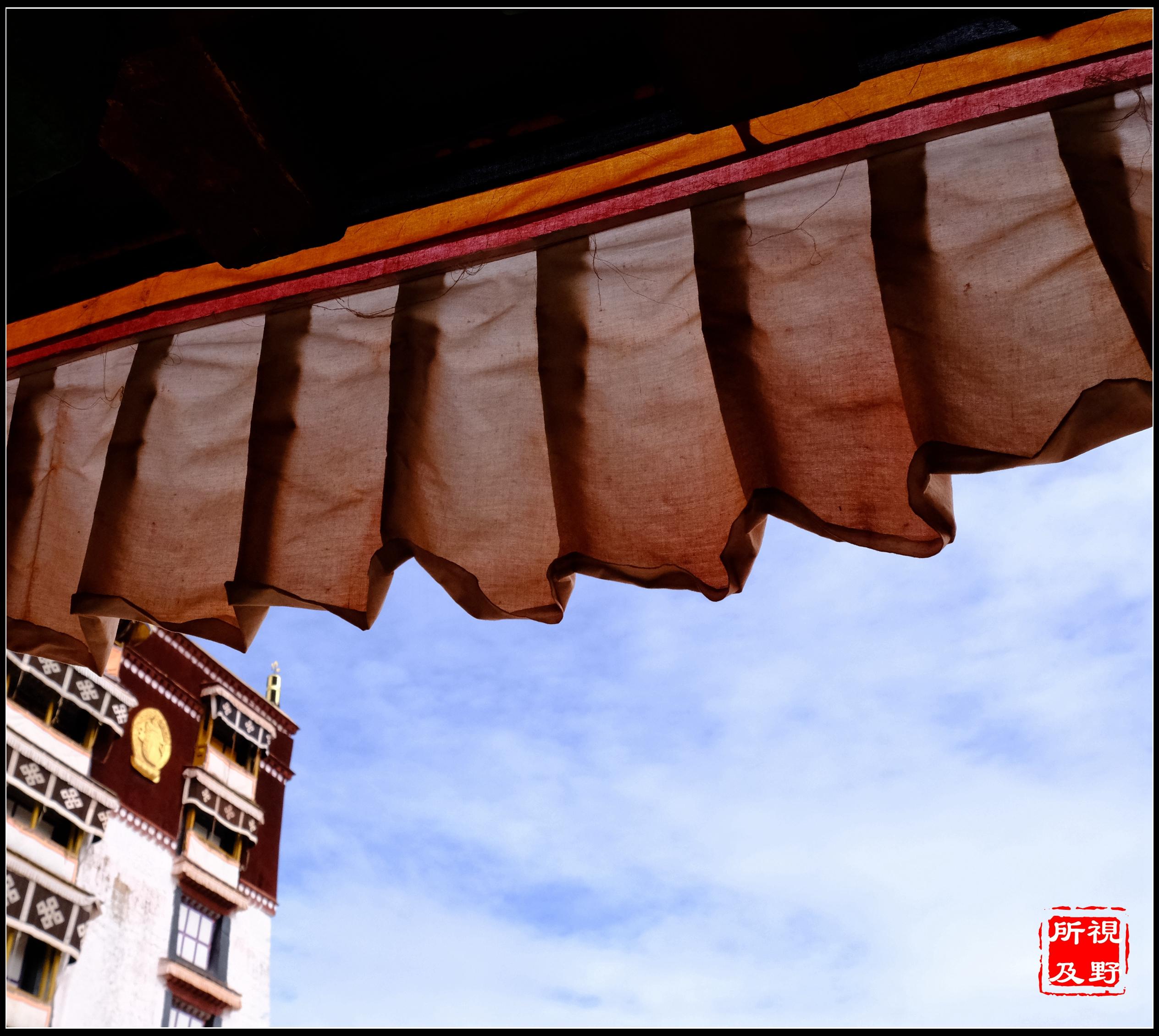 风吹幡动 在西藏是心动