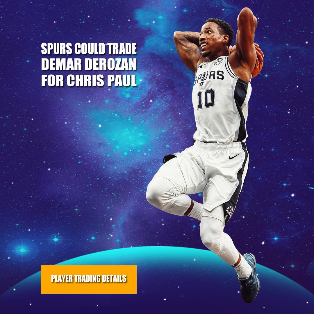 原创             美媒曝马刺最佳升级方案,用德罗赞换保罗,组NBA最具智慧组合!