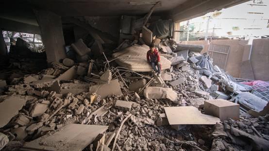 美媒宣称俄空军轰炸叙利亚医院,俄国防部否认:是恐怖分子基地