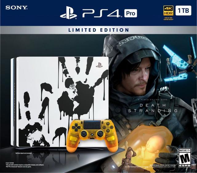 PS4《死亡搁浅》游戏容量曝光需要55GB硬盘空间