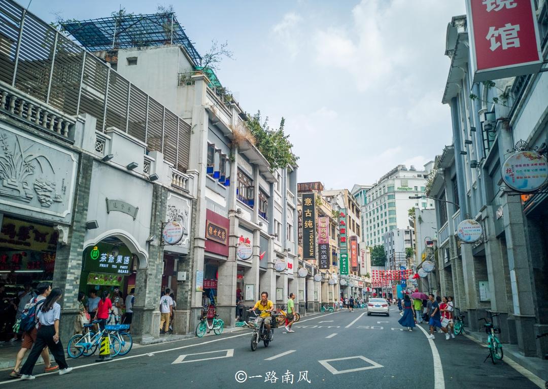 原创             广州最早的步行街,下雨天不会被雨淋,大太阳还可以防晒!