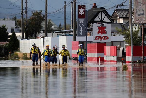 我驻日使馆:除5名船员遇难,暂无中国公民在台风灾害中死伤