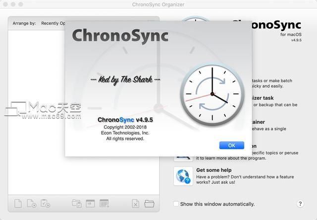 ChronoSyncforMac(文件备份同步工具)v4.9.5免激活版