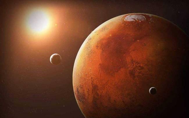 火星上发现生命痕迹!