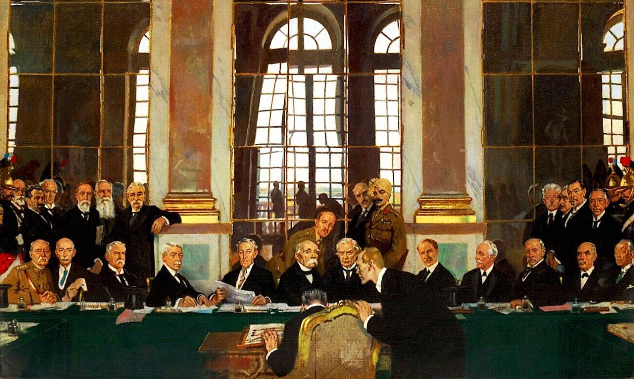 第一次世界大战结束后,德国遭到的惩罚多严厉难怪二战会打起来