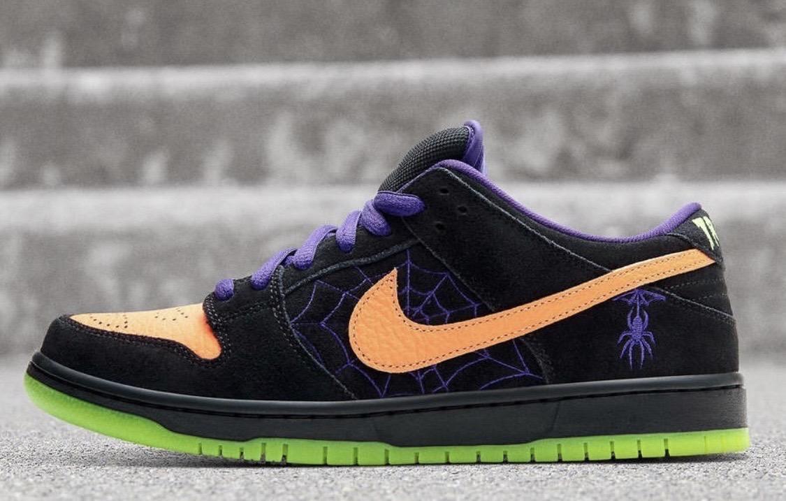 街头霸主回潮NO.1!NikeSBDunk万圣节限定配色帅气来袭!