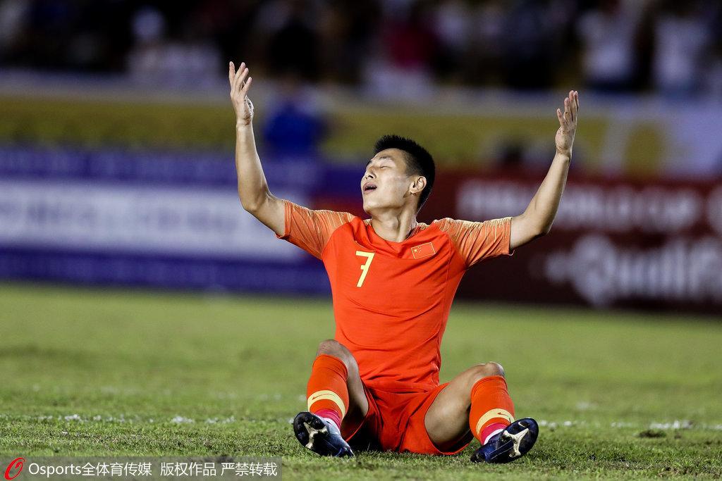 世预赛-武磊造险菲律宾逃点球 国足0-0无缘3连胜