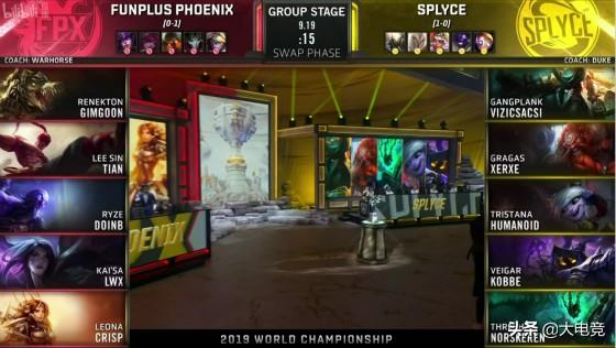 LOL-S9小组赛:小天盲僧绝地抢龙逆天改命!FPX惊险逆转击败SPY