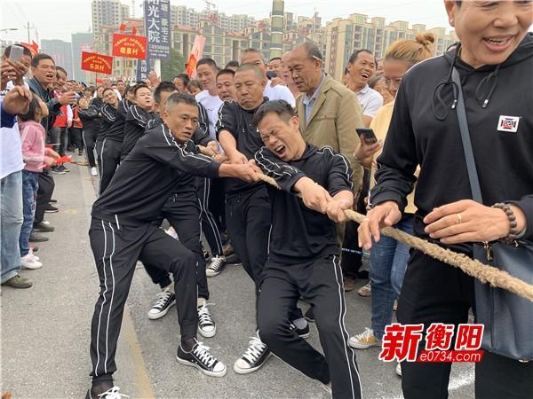 不忘初心振兴乡村 三塘镇开展农村趣味运动会