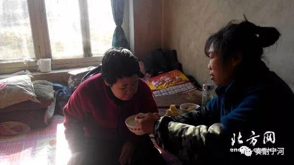 甯河區豐台鎮東趙村淩秀榮:樂觀堅強!她撐起破碎的家!