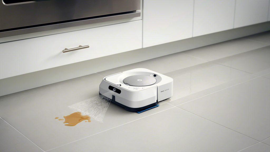 你一定会嫌周拖三次地太累,所以 iRobot 发布了新的擦地机器人来帮忙