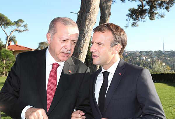 外媒:埃爾多安緻電馬克龍,解釋土耳其在叙北部軍事行動目标