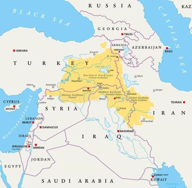 从一手扶植到直接抛弃库尔德人,美国向世界展示