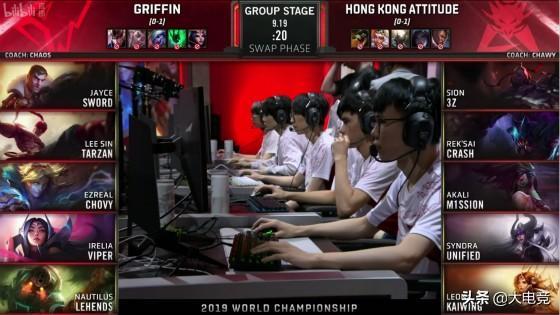 LOL-S9小组赛:GRF一级团爆炸但实力碾压,轻松击败HKA拿到首胜_赛恩