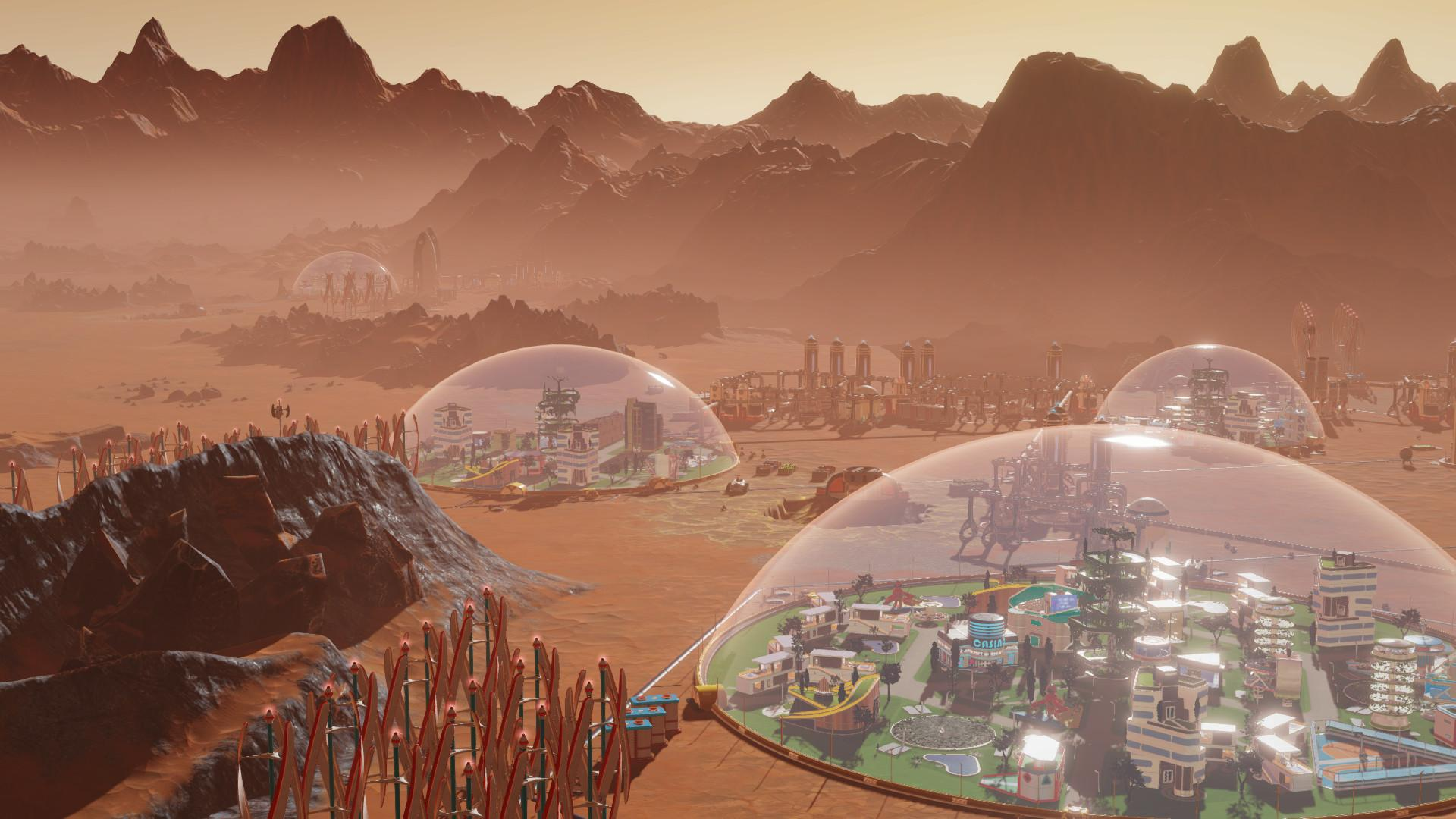 Epic喜加一:建造火星城市《SurvivingMars》_游戏