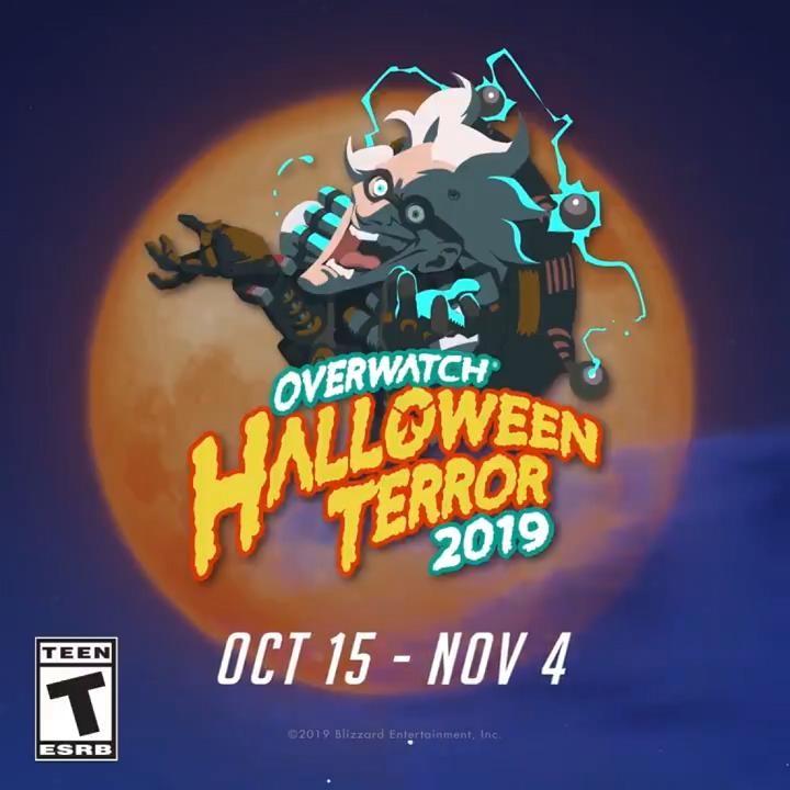 《守望先锋》万圣节活动10月16日正式开启,与Switch版一同上线