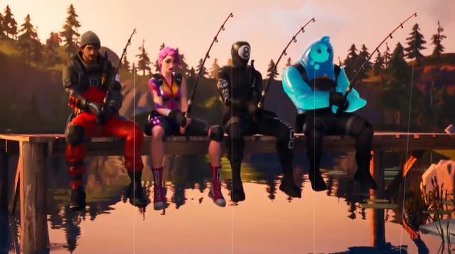 《堡垒之夜》第二章S1宣传片完整版公布能钓鱼才是好游戏
