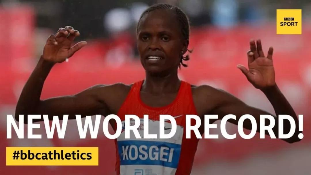 原创             跑狐周记|1:59:40基普乔格成功破2!Kosgei破女子世界纪录