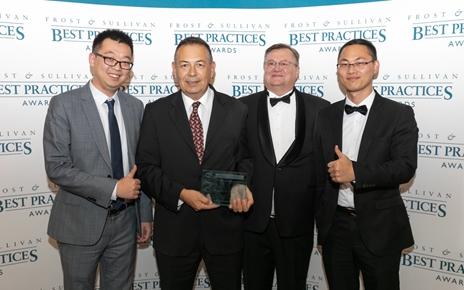 """华为获得Frost&Sullivan""""全球智能数据中心技术领导力奖"""""""