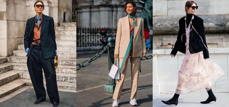 没人比她更适合西装了!时尚编辑Julie Pelipas的极简风格搭配解析