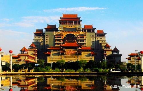 玉林云天宫未解之谜,耗资20多亿元,为何落户玉林而不是台湾