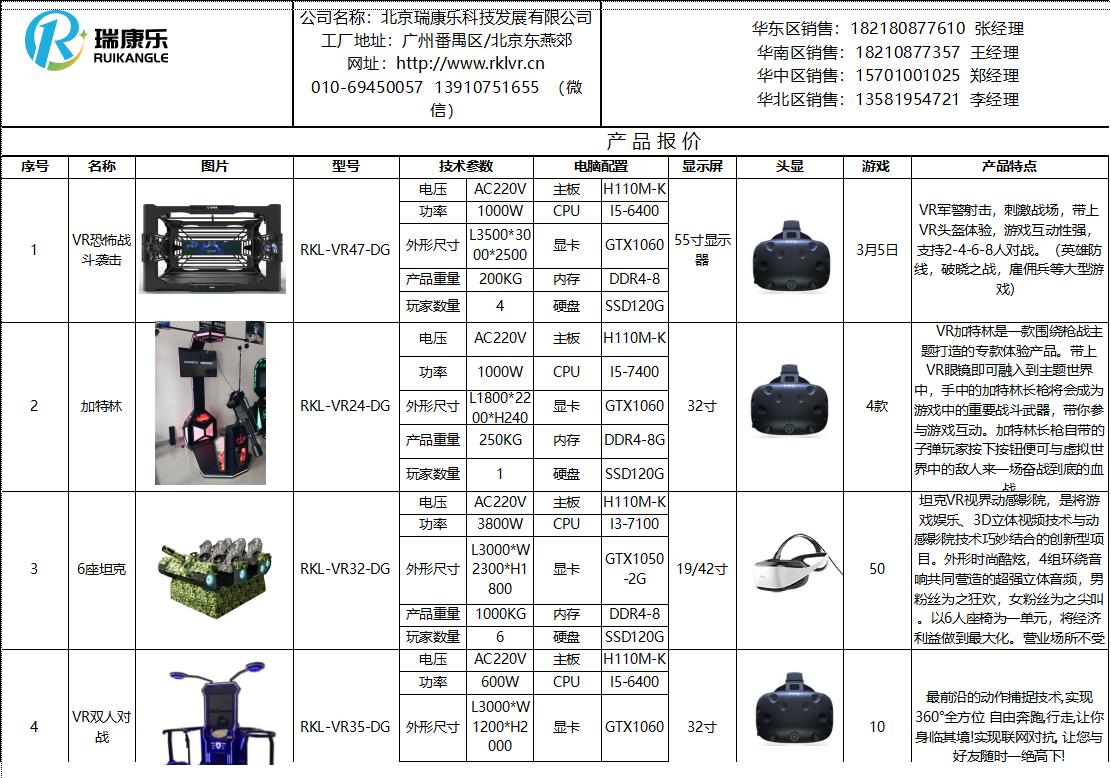 VR军事产品