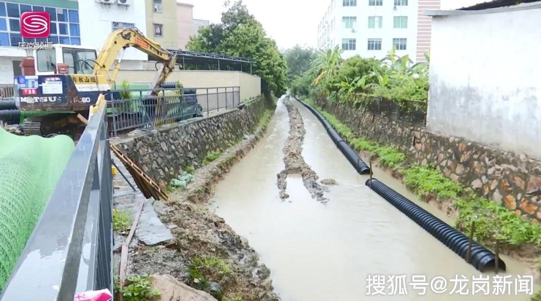 宝龙山塘尾河道水质达标获居民点赞