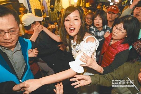 """支持者提議韓國瑜找韓冰回來救援 """"神力女超人""""許淑華回應"""