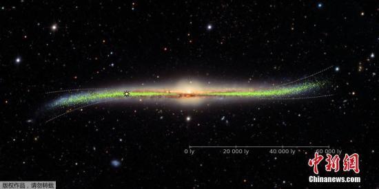 俄罗斯拍摄到银河系中心中子星上的热核爆炸