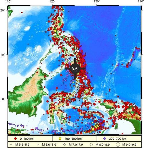 菲律宾地震或引发局地海啸不会对中国沿岸造成灾害性影响