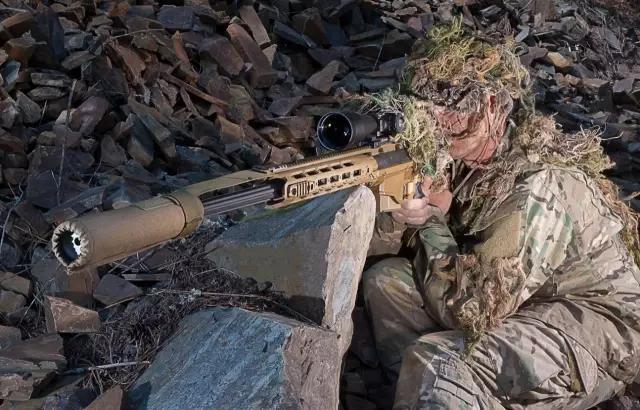 钛合金机匣,引领模块化设计的美国雷明登MSR狙击步枪
