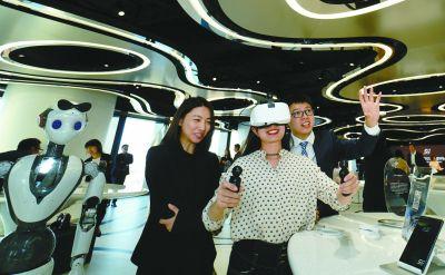 5G实验室亮相丽泽金融商务区市民可预约参观体验