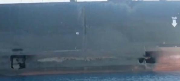 遭袭油轮照片公布伊朗总统:确认是外国政府所为