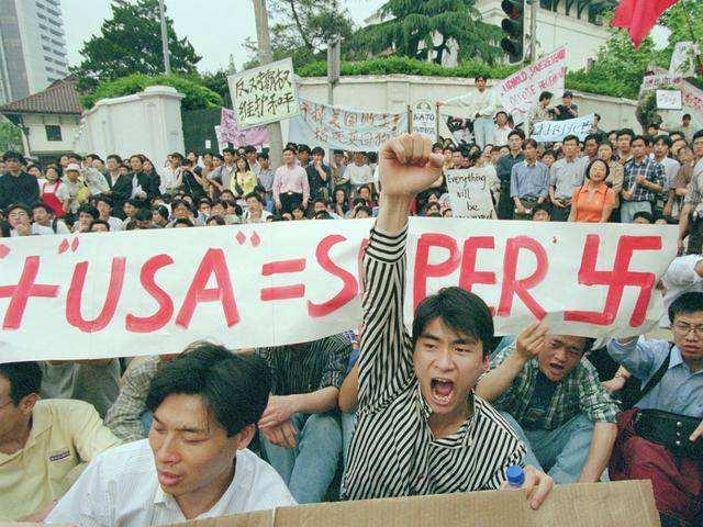 20年前,中国大使馆被美国轰炸,为何当时不报复