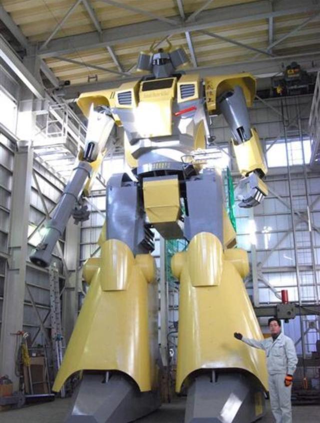 十名工人用17年制作世界最大的可动高达,震惊世界!