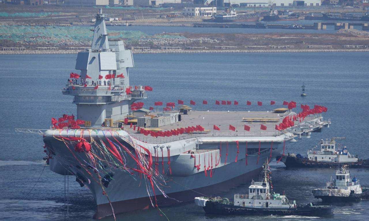 終于來了,國產航母服役時間臨近,我國從此開啟雙航母時代_西方