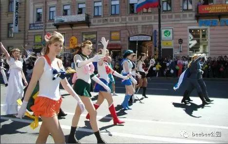 美少女战士为何在俄罗斯如此受欢迎? 涨姿势 热图1